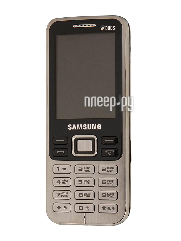 Сотовый телефон Samsung GT-C3322 / GT-C3322I Duos Midnight Black  Pleer.ru  2482.000