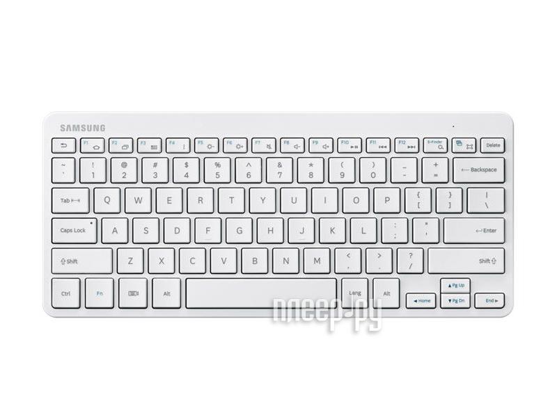 Аксессуар Samsung EJ-BT230 Galaxy Tab EJ-BT230RWEGRU White - клавиатура  Pleer.ru  1709.000