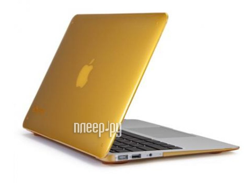 Аксессуар Чехол MacBook Pro 13 Speck SeeThru Butternut Squash SPK-A1476  Pleer.ru  1700.000
