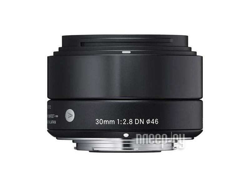 Объектив Sigma AF 30 mm F/2.8 DN A for NEX Black  Pleer.ru  6437.000