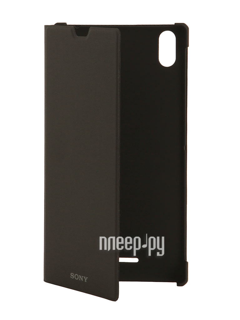 Аксессуар Чехол Sony Xperia T3 Style Cover Stand SCR16 Black  Pleer.ru  1521.000