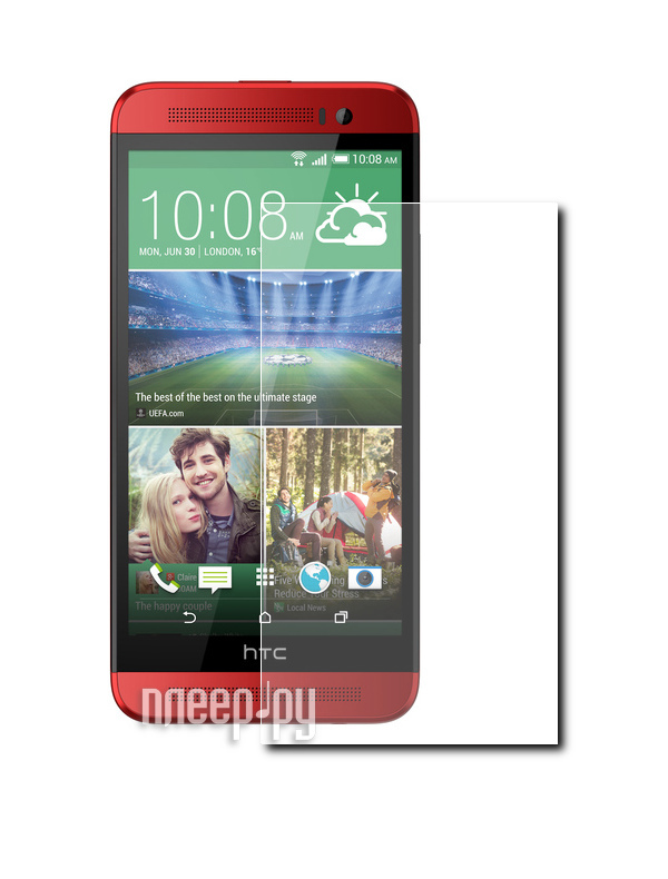 Аксессуар Защитная пленка HTC One E8 Ace LuxCase антибликовая 80390  Pleer.ru  554.000