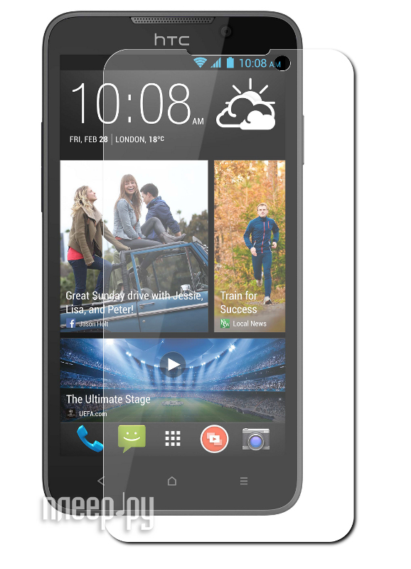 Аксессуар Защитная пленка HTC Desire 516 LuxCase суперпрозрачная 80396  Pleer.ru  554.000