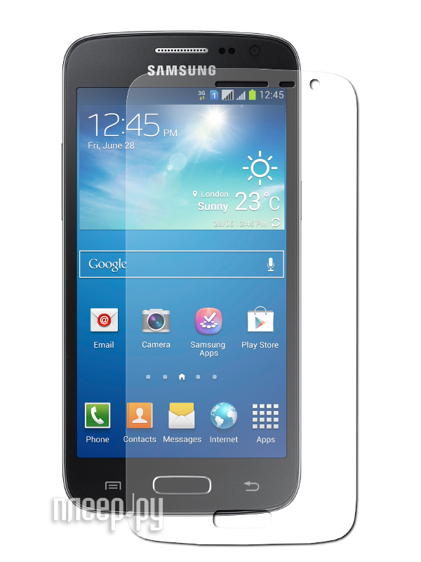 Аксессуар Защитная пленка Samsung G3812B Galaxy S III Slim LuxCase антибликовая 80842  Pleer.ru  554.000