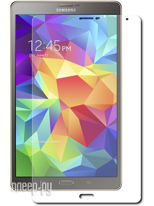 Аксессуар Защитная пленка Samsung Galaxy Tab S 8.4 LuxCase суперпрозрачная 80864  Pleer.ru  619.000