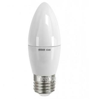 Купить Лампочка Gauss Elementary 6W E27 220V 2700K LD33216