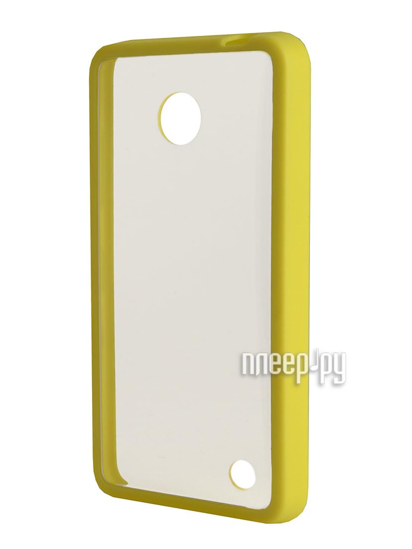 Аксессуар Чехол Nokia 630 NEXX Zero поликарбонат Yellow MB-ZR-603-YL  Pleer.ru  1039.000