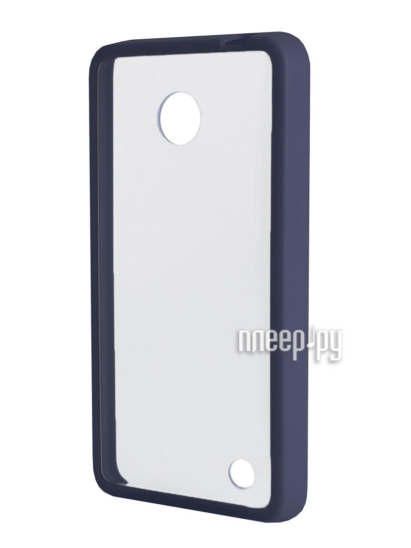 Аксессуар Чехол Nokia 630 NEXX Zero поликарбонат Blue MB-ZR-603-DB  Pleer.ru  1039.000
