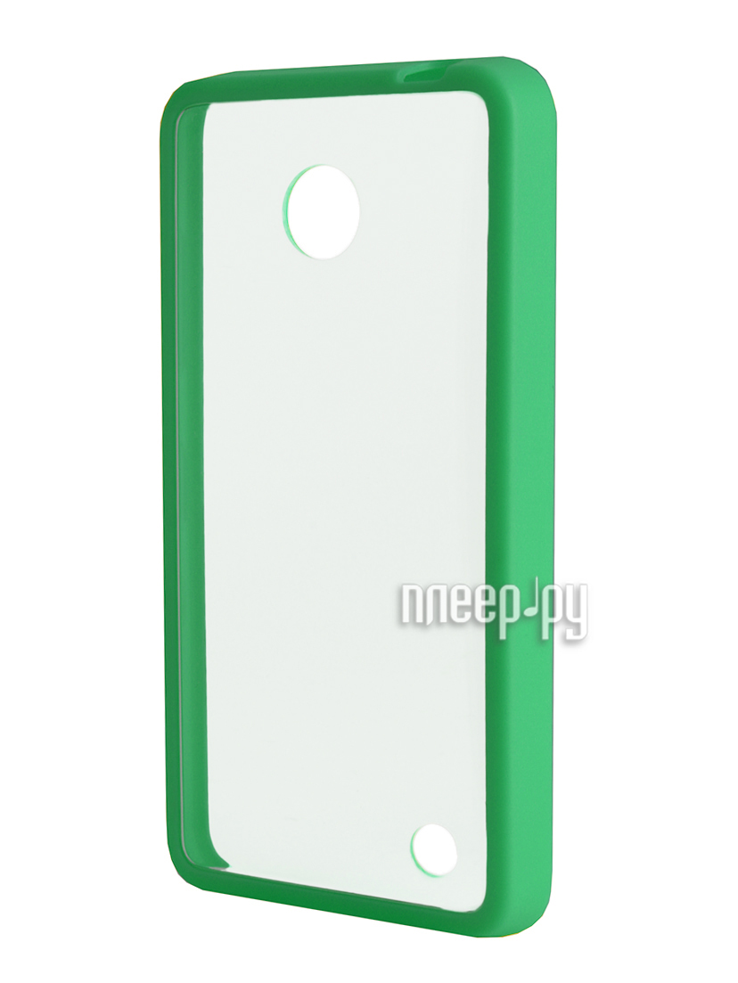 Аксессуар Чехол Nokia 630 NEXX Zero поликарбонат Green MB-ZR-603-GN  Pleer.ru  1039.000