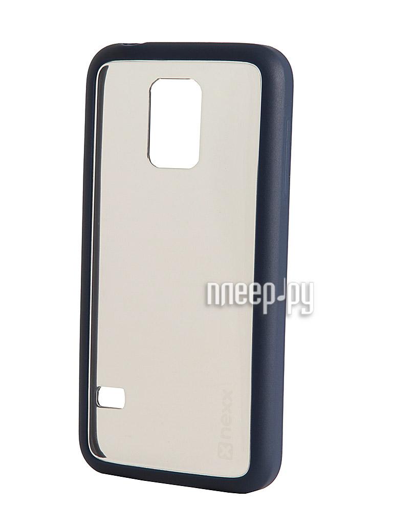 Аксессуар Чехол Samsung SM-G800 Galaxy S5 mini NEXX Zero поликарбонат Blue MB-ZR-218-DB  Pleer.ru  1039.000