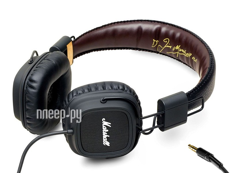 Наушники Marshall Major FX Black  Pleer.ru  5063.000