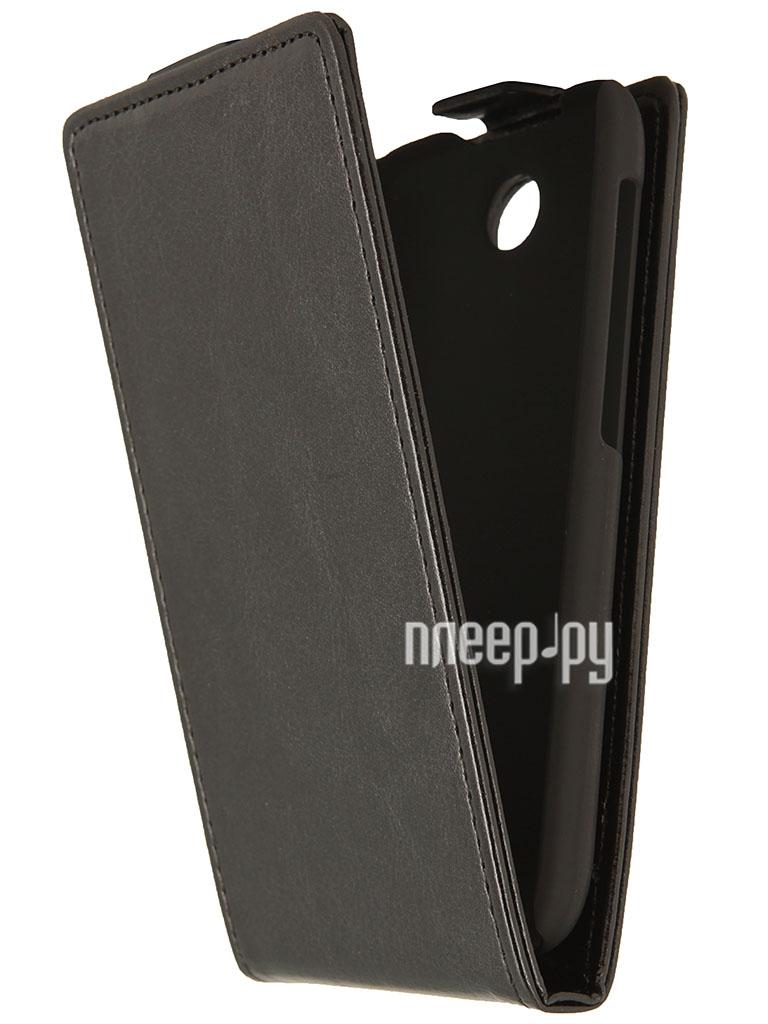 Аксессуар Чехол HTC Desire 310 SkinBox Flip Black T-F-HTCD310  Pleer.ru  1000.000