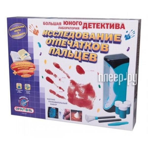 Набор QIDDYCOME Большая лаборатория юного детектива отпечатки пальцев ST-CR1130  Pleer.ru  1260.000