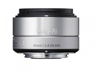 Объектив Sigma Micro 4/3 AF 30 mm F/2.8 DN ART for Micro Four Thirds Silver