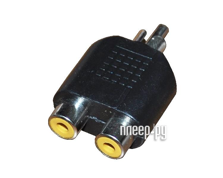 Аксессуар Rexant Plug RCA - 2x Jack RCA 14-0421-01  Pleer.ru  323.000