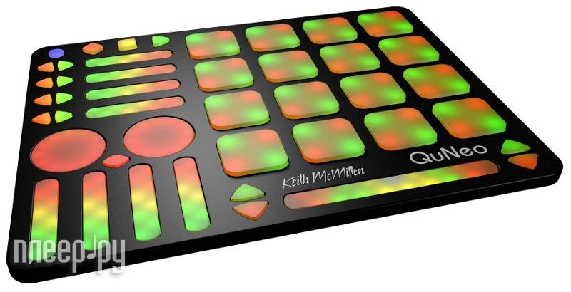 MIDI-контроллер KEITH McMillen QuNeo  Pleer.ru  7740.000