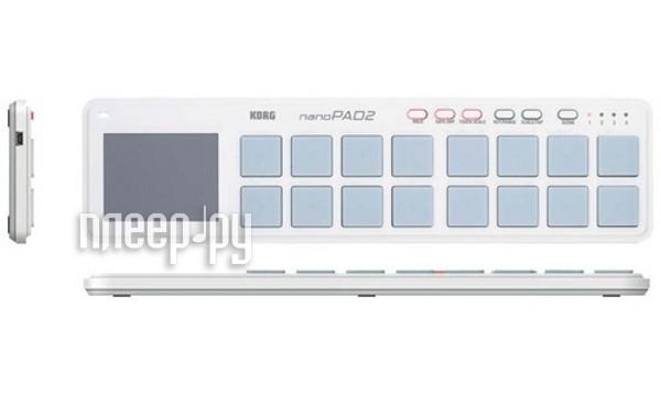 MIDI-контроллер G nanoPAD2 White  Pleer.ru  2926.000