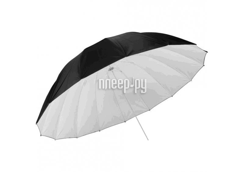 Зонт Fujimi FJFG-40BW 101cm Black-White  Pleer.ru  1541.000