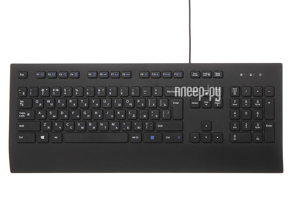 Клавиатура Logitech K280e Corded Keyboard Black 920-005215  Pleer.ru  622.000