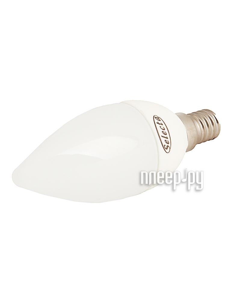 Лампочка Selecta EcoPro LED C35 E14 6W 4000K 640641  Pleer.ru  157.000