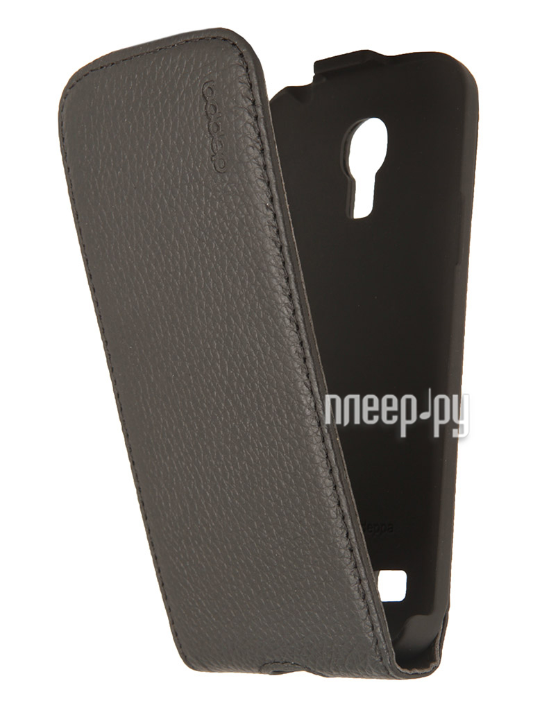 Аксессуар Чехол Samsung Galaxy S4 mini Deppa Flip Cover Black 81026  Pleer.ru  1234.000