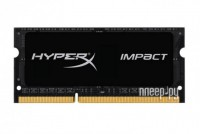 Модуль памяти Kingston HyperX Impact DDR3L SO-DIMM 1600MHz PC3-12800 CL9 - 8Gb HX316LS9IB/8