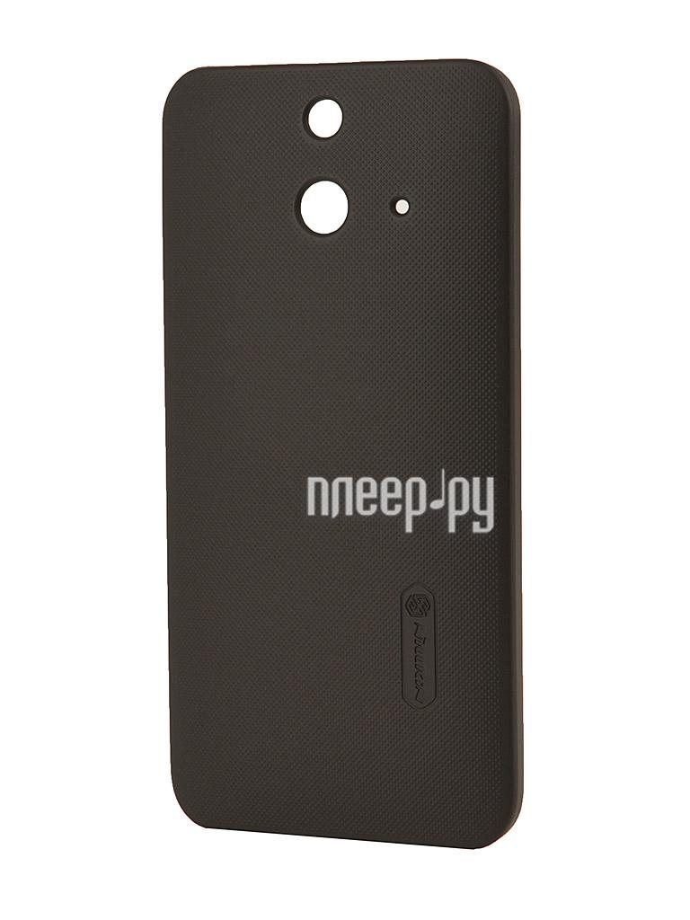 Аксессуар Чехол-накладка HTC One E8 Nillkin Super Frosted Shield Black T-N-HOE8-002  Pleer.ru  1126.000