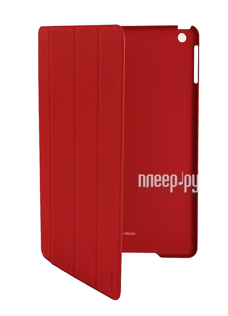 Аксессуар Чехол APPLE iPad Air Deppa Ultra Cover + защитная пленка Red 82019  Pleer.ru  1887.000