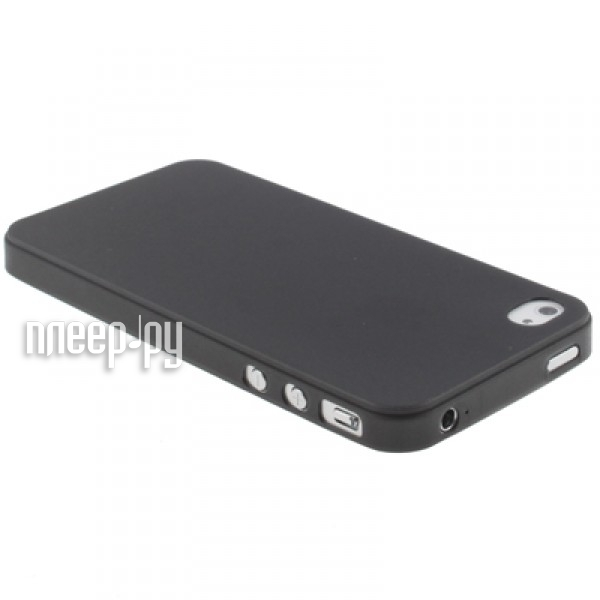 Аксессуар Чехол Deppa Sky Case + защитная пленка for iPhone 4 / 4S Black 86004  Pleer.ru  1083.000
