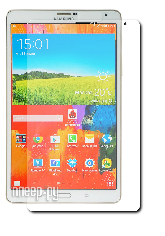Аксессуар Защитная пленка Samsung Galaxy Tab S 8.4 Deppa прозрачная 61347  Pleer.ru  599.000