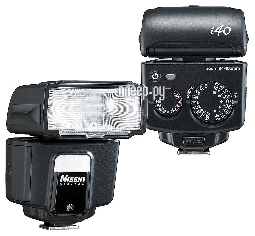 Вспышка Nissin i-40 for Nikon  Pleer.ru  8787.000