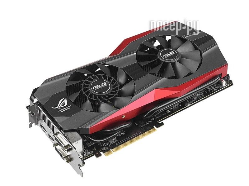 Видеокарта ASUS GeForce GTX 780 Ti 1006Mhz PCI-E 3.0 3072Mb 7000Mhz 384 bit 2xDVI HDMI HDCP MATRIX-GTX780TI-P-3GD5  Pleer.ru  23940.000