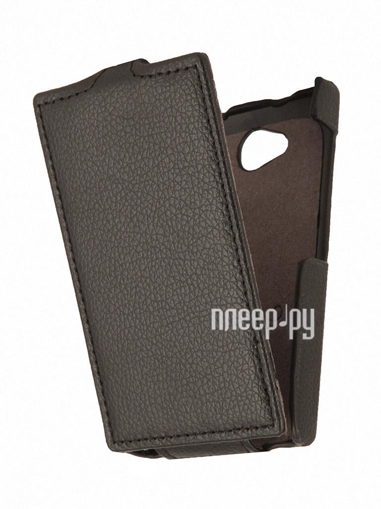 Аксессуар Чехол Nokia Asha 503 Partner Flip-case Black  Pleer.ru  1021.000