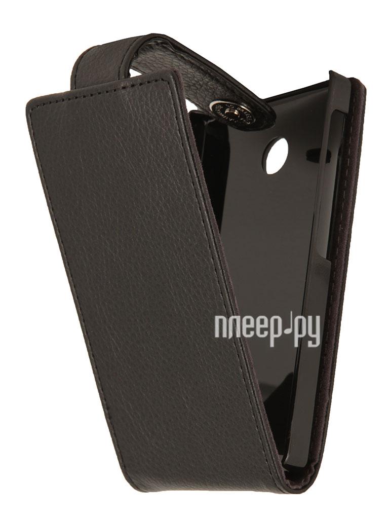 Аксессуар Чехол Nokia X / X+ iBox Classic Black  Pleer.ru  939.000
