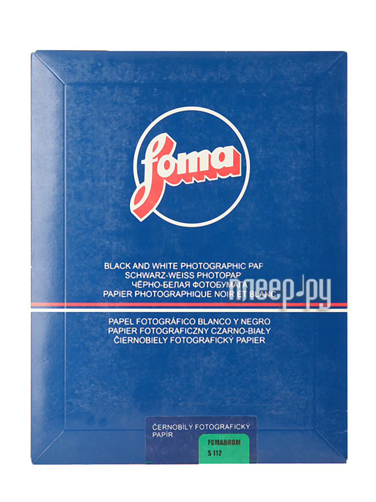 Фотобумага Foma Fomabrom 112S 17.8x24 10 листов  Pleer.ru  450.000