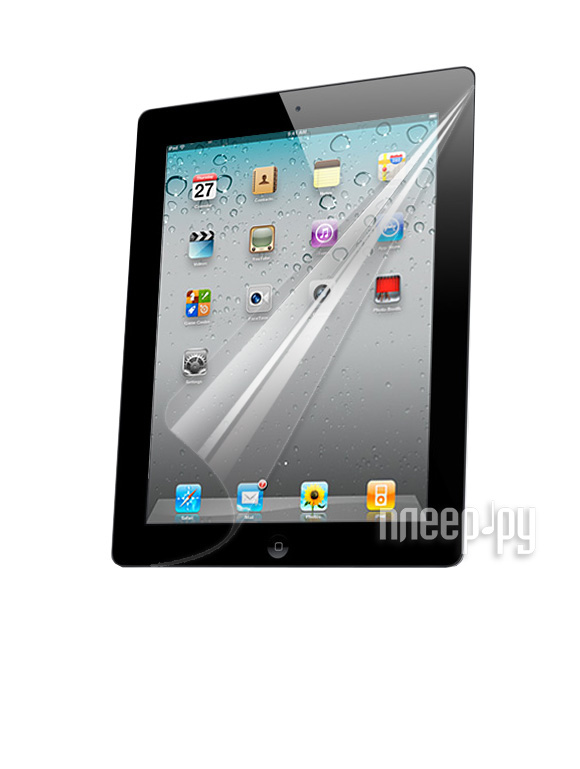 Аксессуар Защитная пленка iPad 2 / iPad 3 Yoobao глянцевая  Pleer.ru  591.000