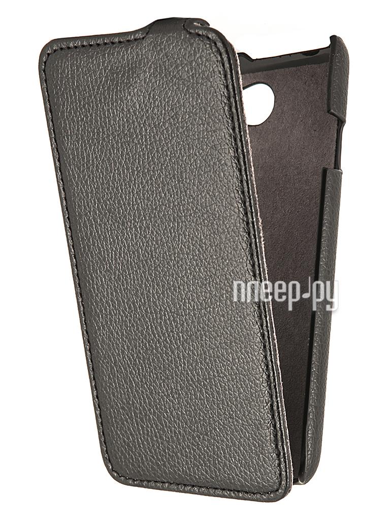 Аксессуар Чехол HTC Desire 516 Partner Flip-case Black  Pleer.ru  1021.000