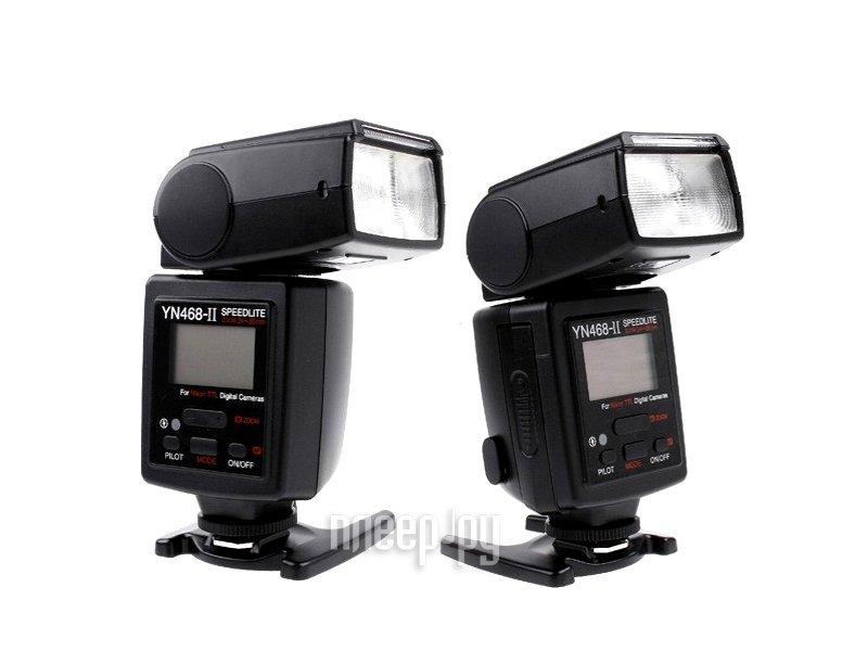 Вспышка YongNuo YN-468II TTL Speedlite for Nikon  Pleer.ru  4248.000