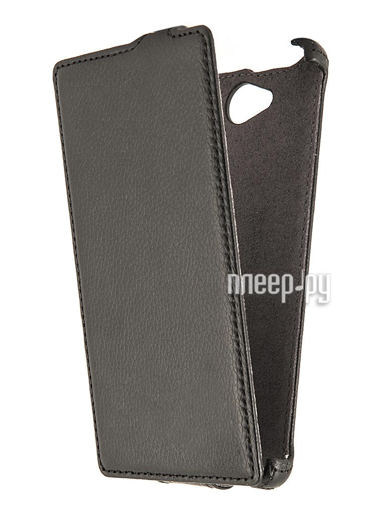Аксессуар Чехол Philips W3500 Partner Flip-case Black  Pleer.ru  1021.000