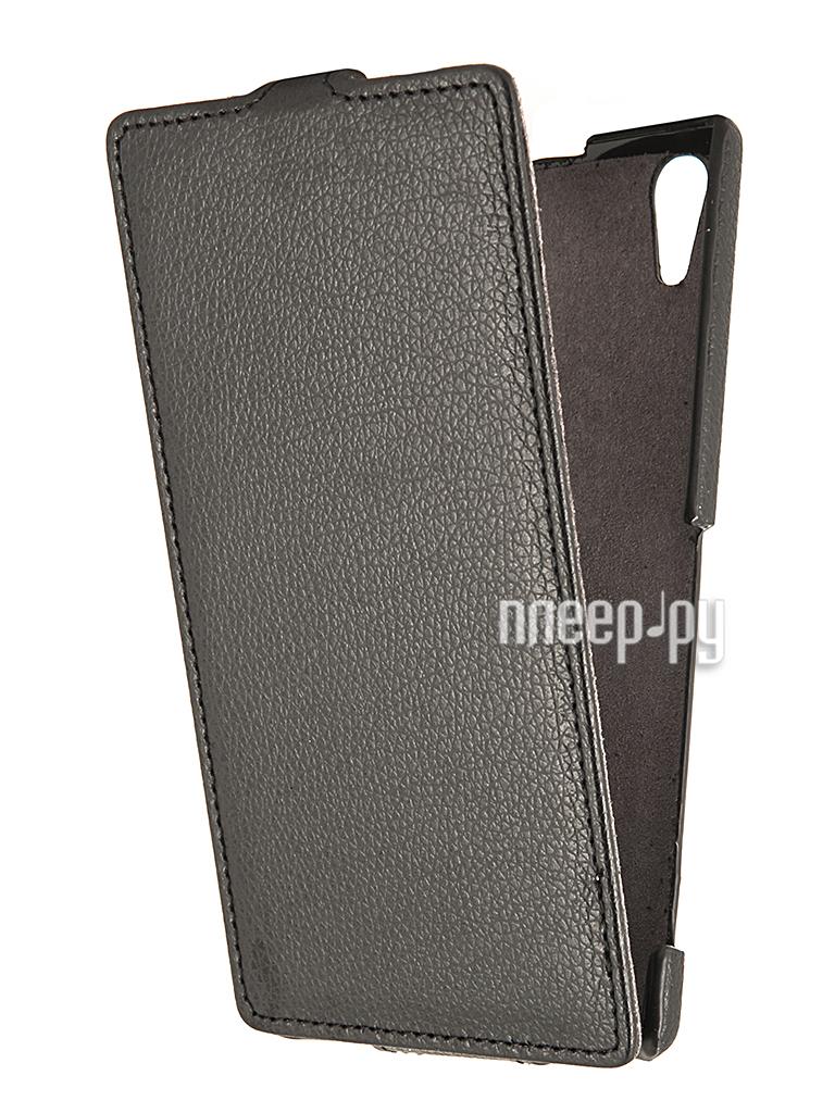 Аксессуар Чехол Sony Xperia T3 Partner Flip-case Black  Pleer.ru  1021.000