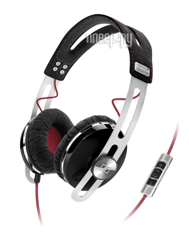 Гарнитура Sennheiser Momentum On-Ear Black  Pleer.ru  8196.000
