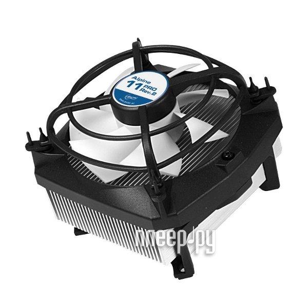 Кулер Arctic Cooling Alpine 11 PRO Rev.2 UCACO-AP110-GBB01 (S775/S1150/1155/S1156)