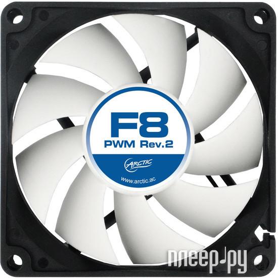 Вентилятор Arctic Cooling F8 PWM rev2 AFACO-080P2-GBA01 80mm