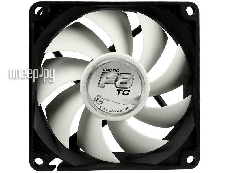 Вентилятор Arctic Cooling F8 TC термодатчик AFACO-080T0-GBA01 80mm  Pleer.ru  171.000