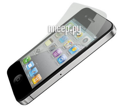 Аксессуар Защитная пленка Polaroid for iPhone 4 / 4S прозрачная  Pleer.ru  539.000