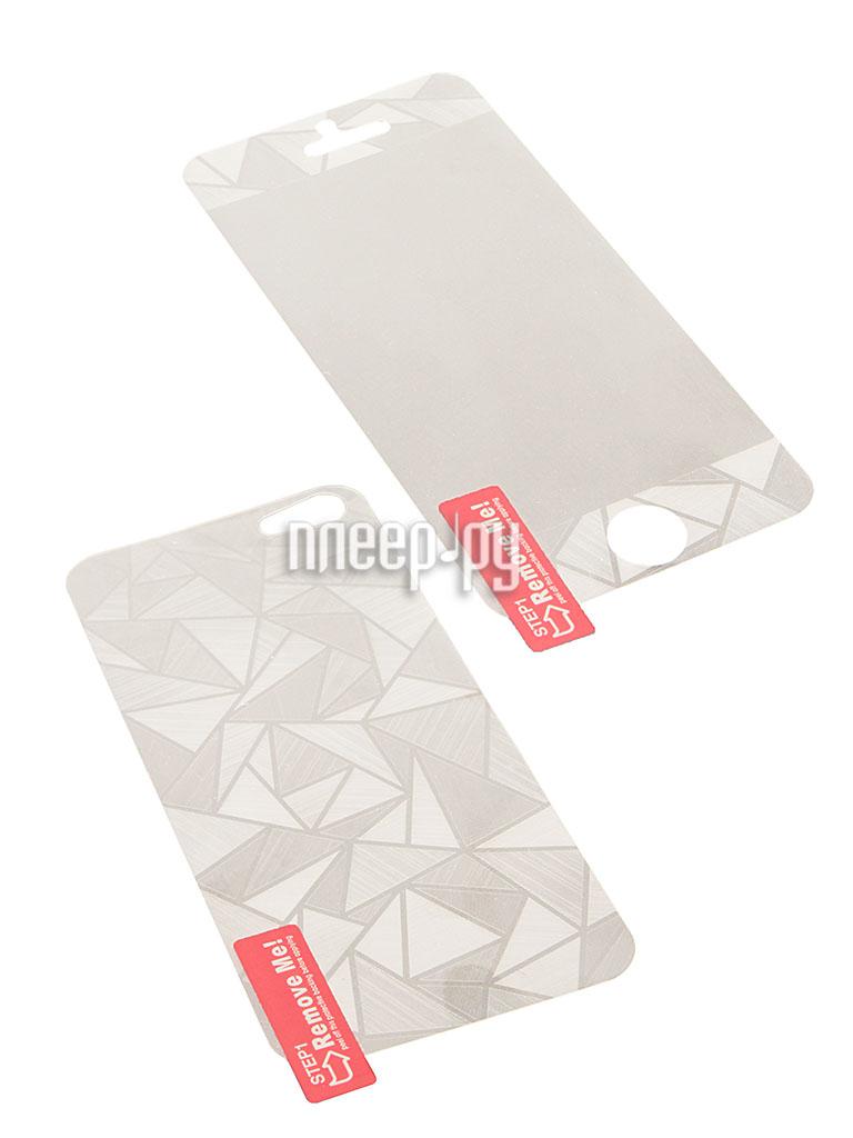 Аксессуар Защитная пленка Polaroid for iPhone 5 / 5S Front and Back 3D  Pleer.ru  559.000