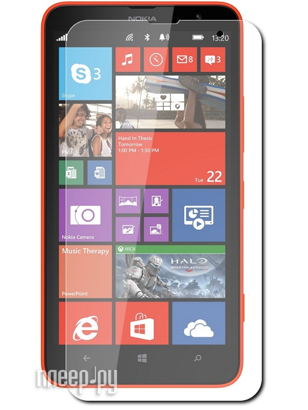 Аксессуар Защитная пленка Nokia Lumia 1320 Polaroid матовая  Pleer.ru  539.000