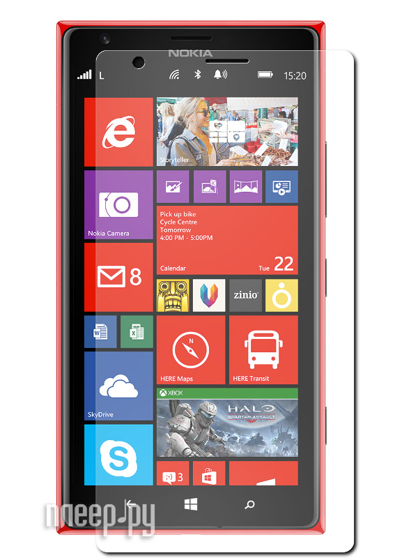 Аксессуар Защитная пленка Nokia Lumia 1520 Polaroid прозрачная  Pleer.ru  539.000