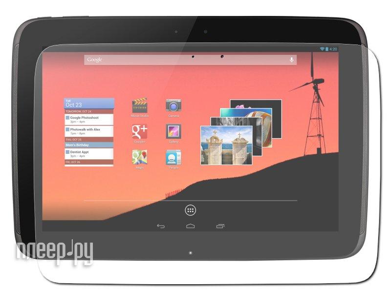 Аксессуар Защитная пленка Samsung Google Nexus 10 P8110 Polaroid прозрачная  Pleer.ru  579.000