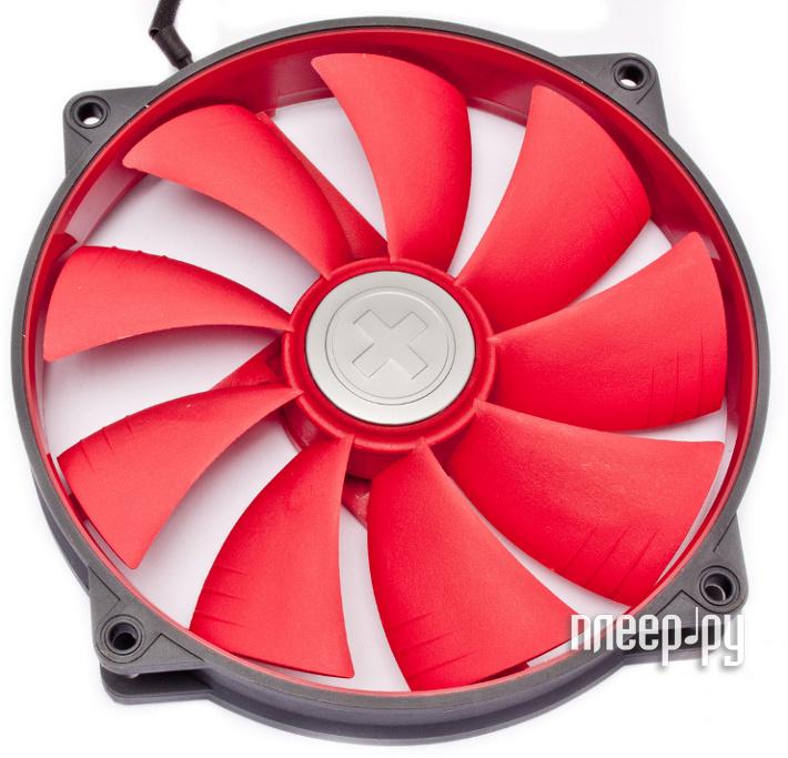 Вентилятор Xilence Case-Fan Grey-Red COO-XPF140.2CF 140x140x25mm  Pleer.ru  811.000